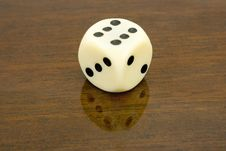 Free Dice (six) Royalty Free Stock Photo - 2238575