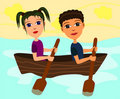 Free Boat Ride Royalty Free Stock Images - 22307359