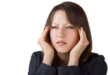 Free Woman Suffering From Headache Royalty Free Stock Images - 22302329
