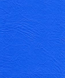 Free Blue Leather Texture Stock Photography - 22303102