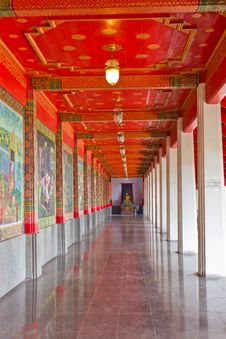 Free Path In The Temple. Stock Image - 22307461