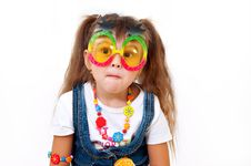 Free Surprised Little Girl Royalty Free Stock Photos - 22310888