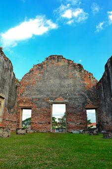 Lopburi, Thailand : Wat Phra Sri Rattana Mahathat Stock Photos