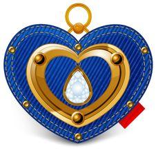 Jewelry Heart Stock Photos