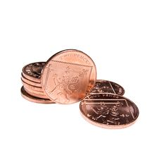 Free Two Pence Coins Stock Image - 22314461