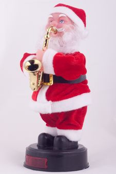 Santa Claus Doll Royalty Free Stock Photo