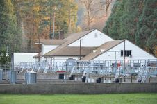 Leaburg Fish Hatchery Stock Image