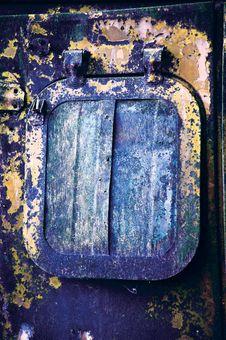 Free Metal Window Royalty Free Stock Photo - 22317935