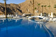 Free Resting Area Near Resort Hotel, Eilat, Israel Stock Images - 22318144