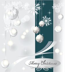 Free Light Christmas Background With Sea Blue Color Stock Images - 22321494