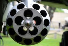 Empty Rocket Launcher Stock Photography