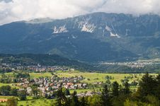 Free Village In The Alps Royalty Free Stock Photo - 22325515
