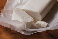 Free Goat Cheese Piece Stock Photography - 22325642