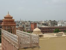 Free Roofs Of Jaipur Royalty Free Stock Photos - 22327388