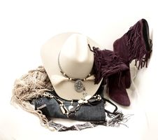 Free Stetson And Accessories Stock Image - 22327761
