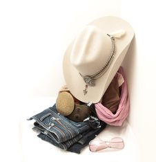 Free Stetson And Accessories Royalty Free Stock Photo - 22327775