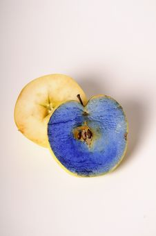 Free Painted Apple Expressing Pollution Royalty Free Stock Photography - 22329707