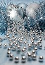 Free Christmas Decorations In Blue Stock Images - 22331644