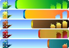Free Banners Set Stock Image - 22330111