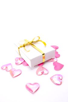 Free Heart And Present Box Royalty Free Stock Images - 22330739