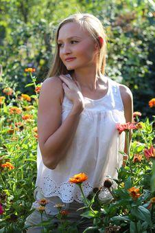 Free Beautiful Young Woman Royalty Free Stock Photo - 22331045