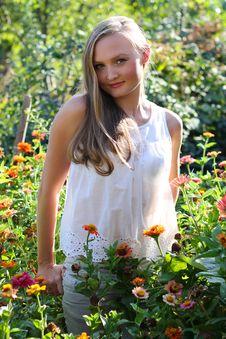 Free Beautiful Young Woman Stock Photo - 22331070