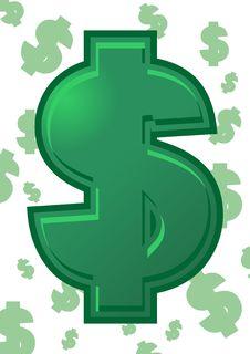 Free Dollar Royalty Free Stock Photo - 22331825