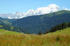 Free French Alps, France Royalty Free Stock Photos - 22332668