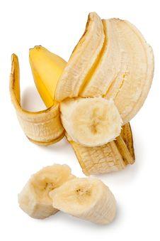 Free Peeled Banana Royalty Free Stock Image - 22332886