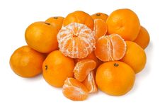 Free Tangerines Pile Royalty Free Stock Photo - 22332905