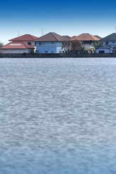 Free Flooded The Village Stock Photography - 22334452
