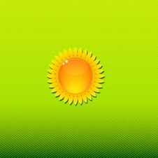 Free Sunny Background Green Stock Photos - 22335633