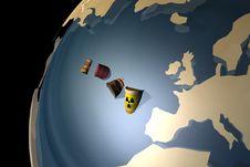 Free Contamination Royalty Free Stock Image - 22335726