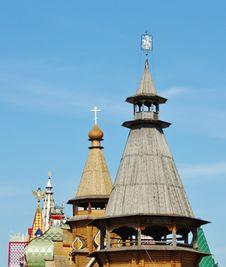 Izmailovo. Towers Of The  Kremlin Stock Photography