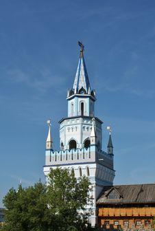 Izmailovo.  Kremlin Tower Royalty Free Stock Photo