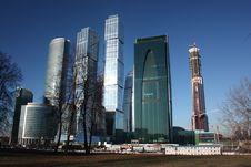 Free Moscow. High-rise Buildings Stock Images - 22339694