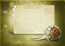 Free Vintage Holiday S Greeting Card Stock Images - 22341944