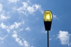 Free Lamp Post, Blue Sky. Stock Image - 22343481