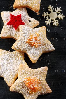 Free Christmas Butter Cookies Stock Images - 22344914