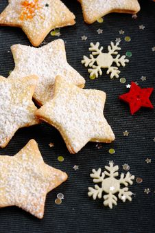 Free Christmas Butter Cookies Stock Image - 22345101