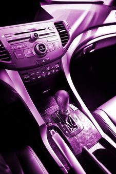 Free Car Interior Detail Royalty Free Stock Photography - 22345497