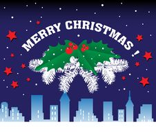 Free Christmas Greeting Royalty Free Stock Image - 22346716