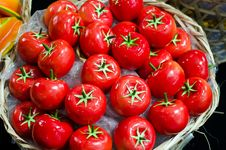 Free Tomato In Basket Stock Image - 22347351