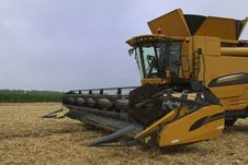 Free Combine / Harvester Royalty Free Stock Photography - 22350647