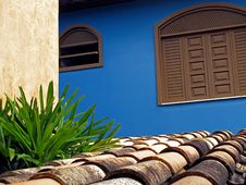 Roof And Wall Stock Image