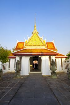 Free Wat Arun Royalty Free Stock Photo - 22355295