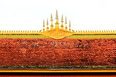 Roof Of The Temple Stock Images