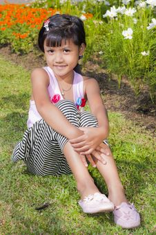 Free Little Girl Smile Stock Images - 22357674