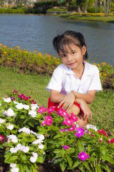 Free Little Girl Smile Stock Photos - 22357843