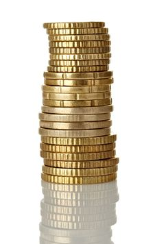 Free Coins Royalty Free Stock Images - 22357929
